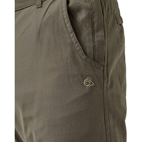 Craghoppers Trek Convertible - Pantalones de Trekking Hombre - Oliva
